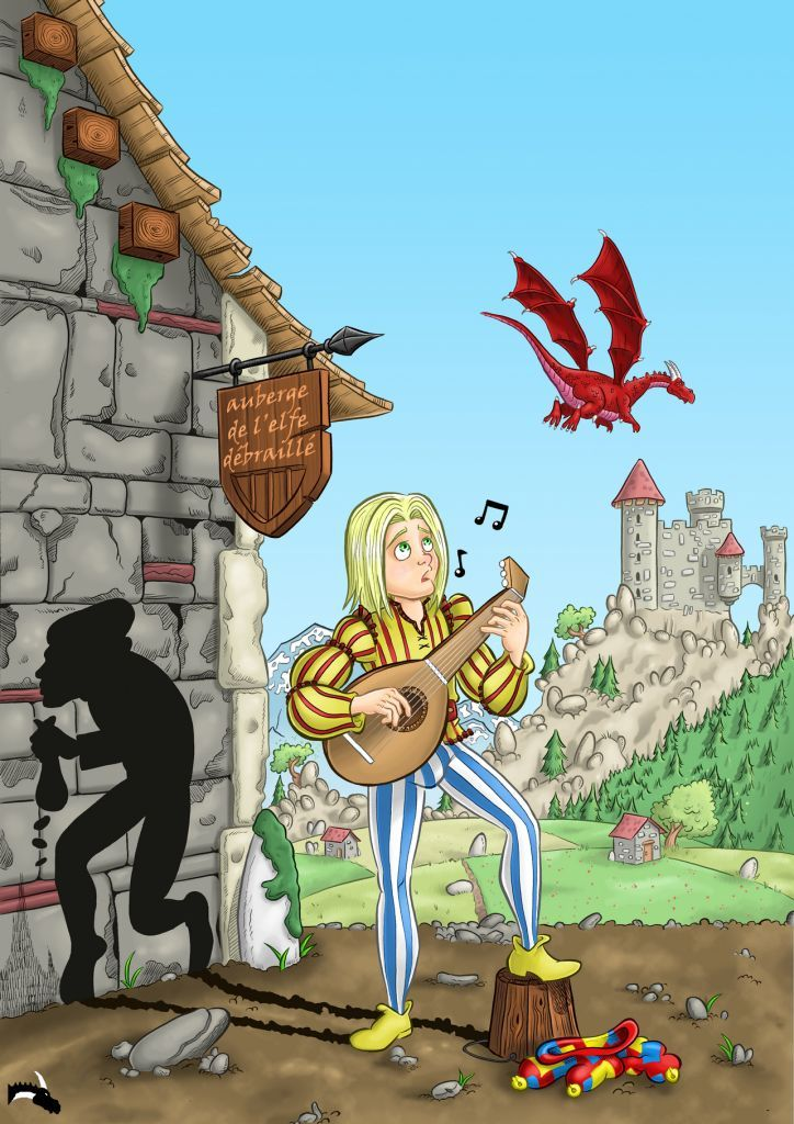 sérénade serenade dragonique tome 1 roman olgir barde une histoire trolle