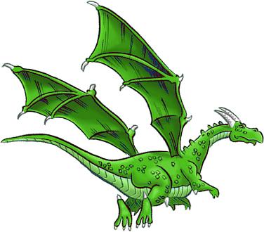 dragon vert olgir barde asymétrie