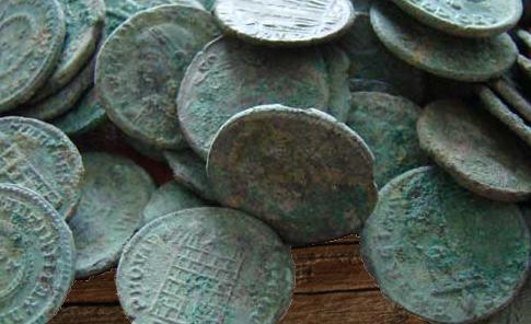 mise de petite maille pour une partie d'Ambrouille, monnaie de Caltaron olgir le barde
